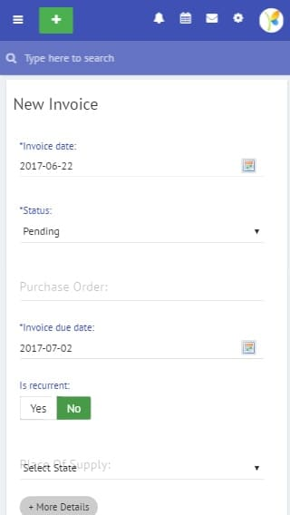 uKnowva Invoice Creation